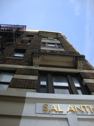 151 E 19th Street Front Looking straight up from corner of 3rd Avenue (North)